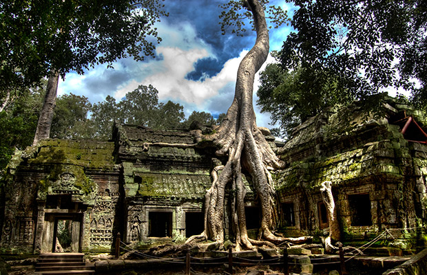 Angkor Wat, Angkor Thom, Bayon & Ta Prohm Temple Private Tour