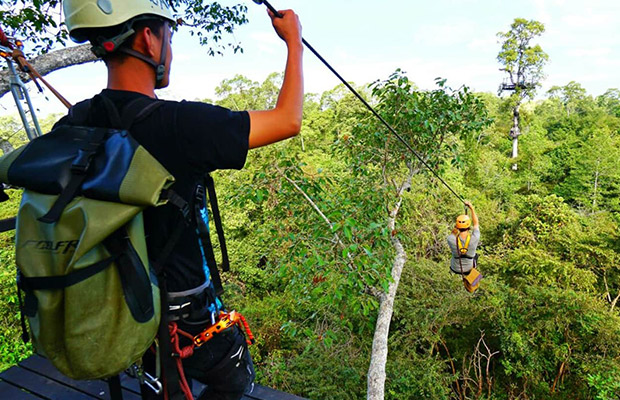 Angkor Park Zipline & Quad Bike Adventure