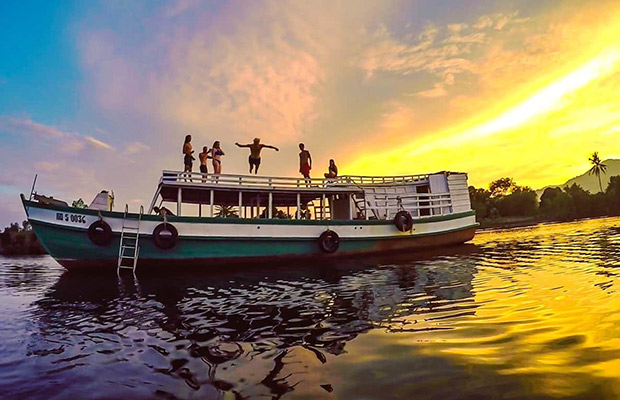 Private Sunset Cruise in Kep City