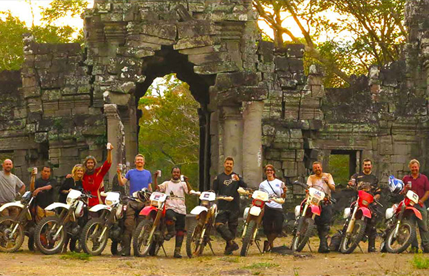 The Great Wall of Angkor Wat Motorbike Adventure